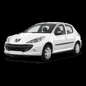 Выкуп бамперов Peugeot Peugeot 206